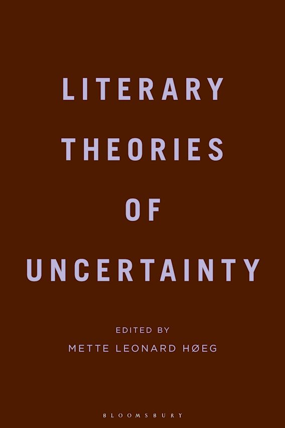 Literary Theories of Uncertainty cover