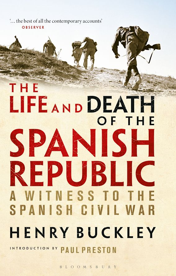 The Life and Death of the Spanish Republic cover