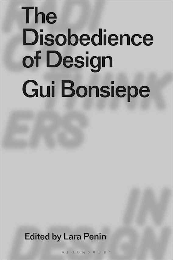 The Disobedience of Design cover