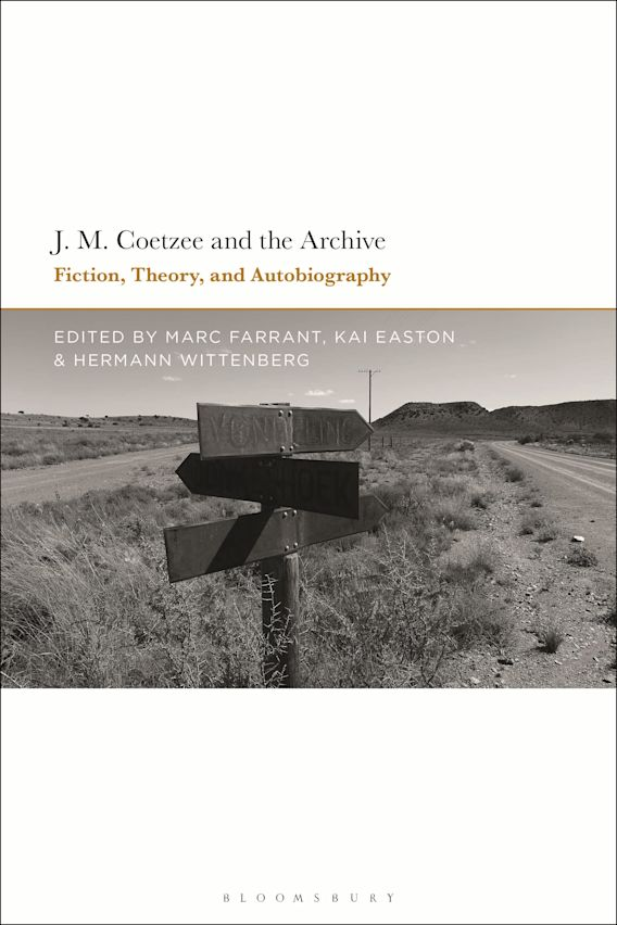 J.M. Coetzee and the Archive cover