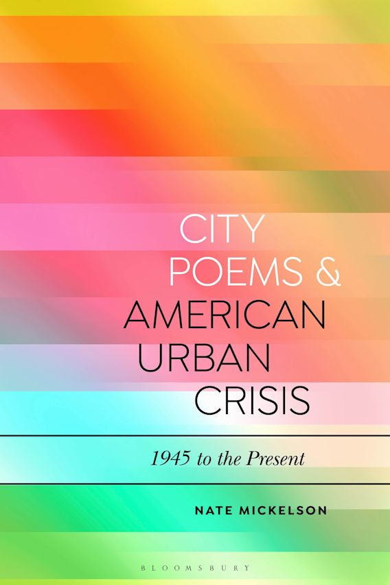 City Poems and American Urban Crisis cover
