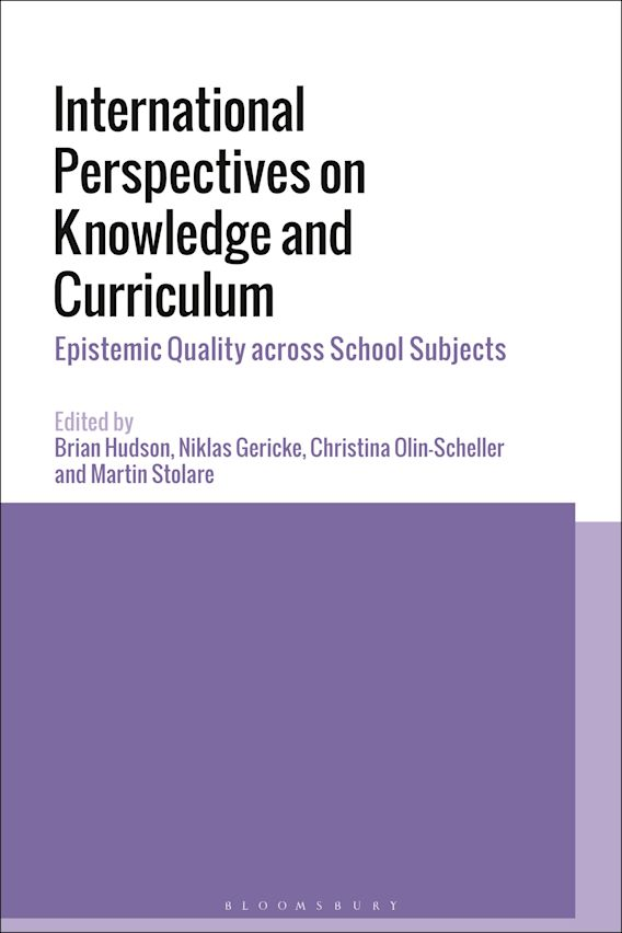 International Perspectives on Knowledge and Curriculum cover