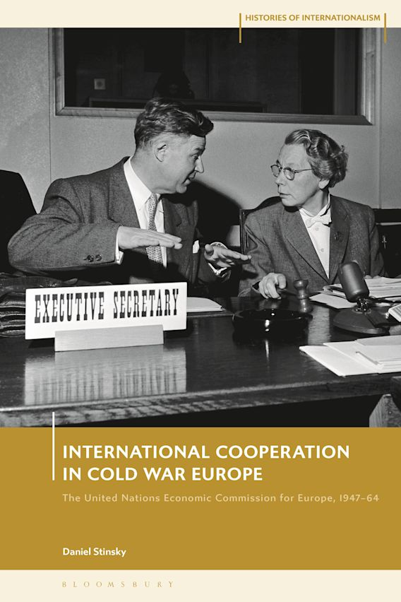 International Cooperation in Cold War Europe cover