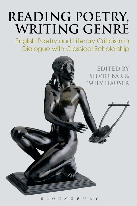 Reading Poetry, Writing Genre cover