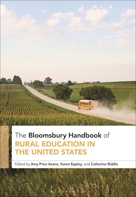 The Bloomsbury Handbook of Rural Education in the United States cover
