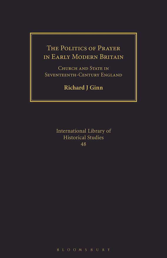 The Politics of Prayer in Early Modern Britain cover