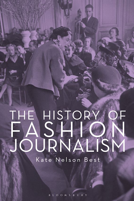 The History of Fashion Journalism cover