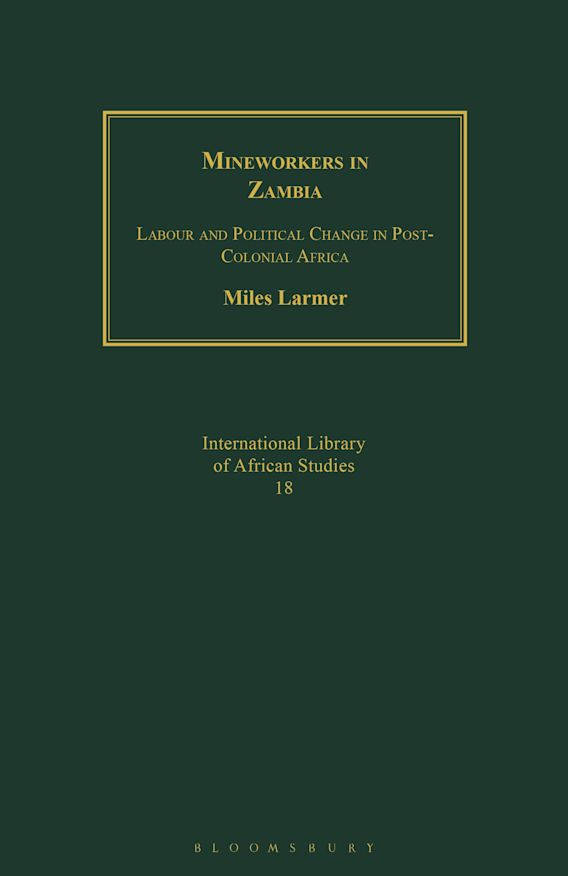 Mineworkers in Zambia cover