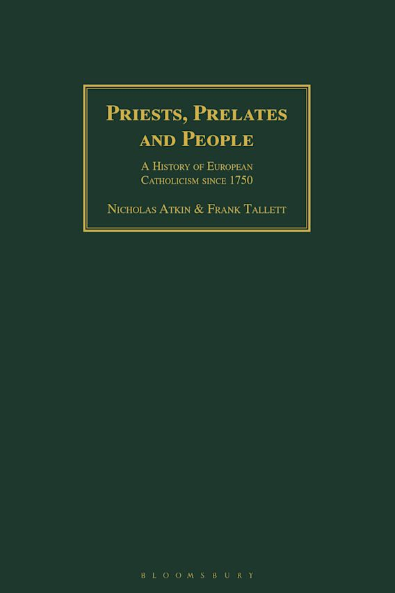 Priests, Prelates and People cover