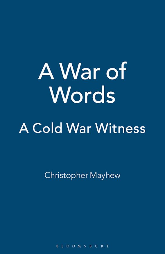 A War of Words cover