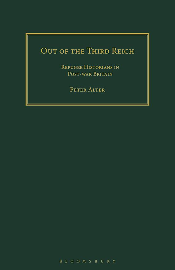 Out of the Third Reich cover