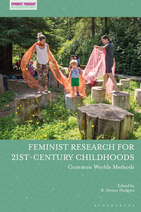 Feminist Research for 21st-century Childhoods cover