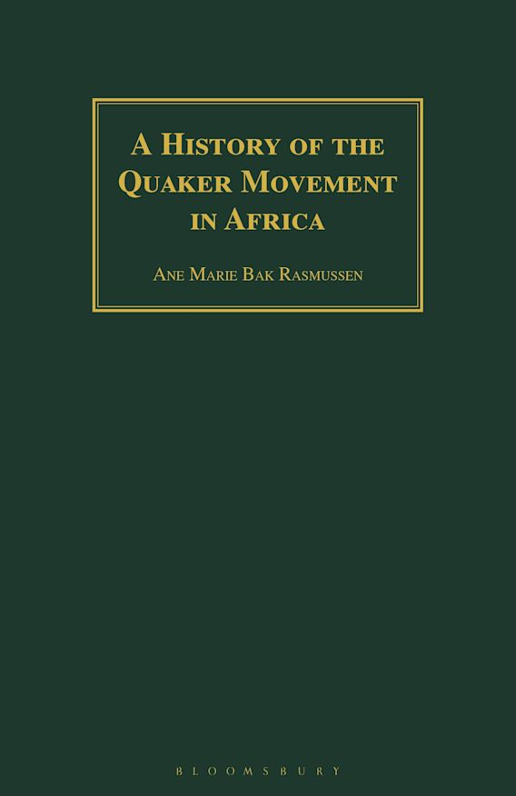 A History of the Quaker Movement in Africa cover