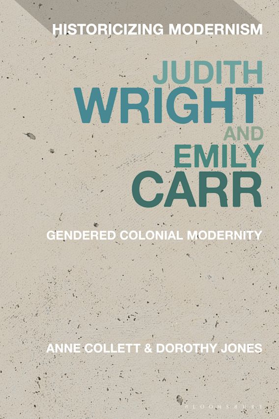 Judith Wright and Emily Carr cover