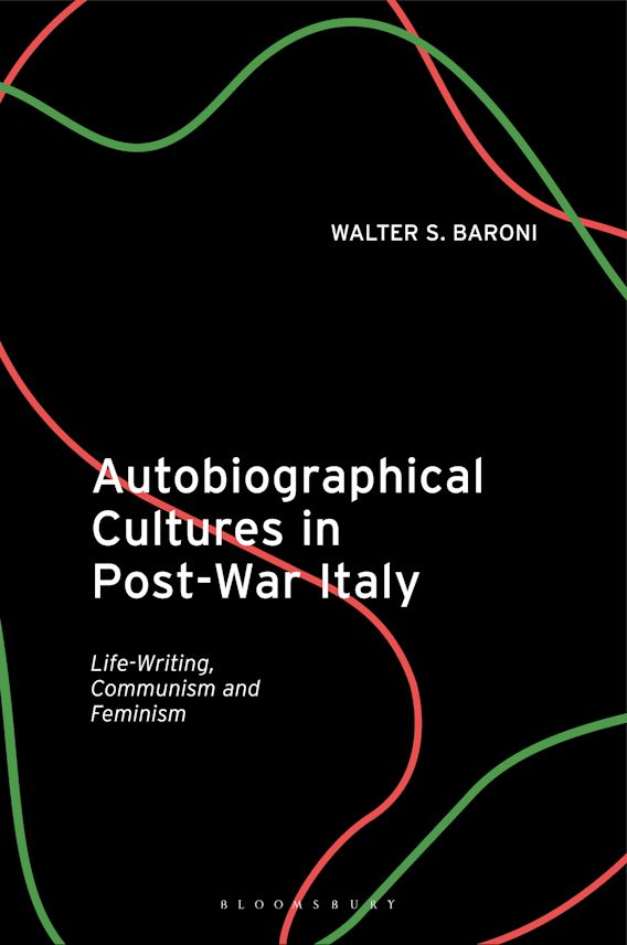 Autobiographical Cultures in Post-War Italy cover