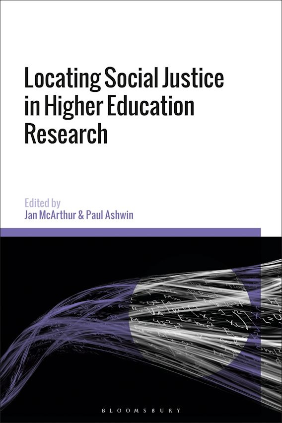 Locating Social Justice in Higher Education Research cover