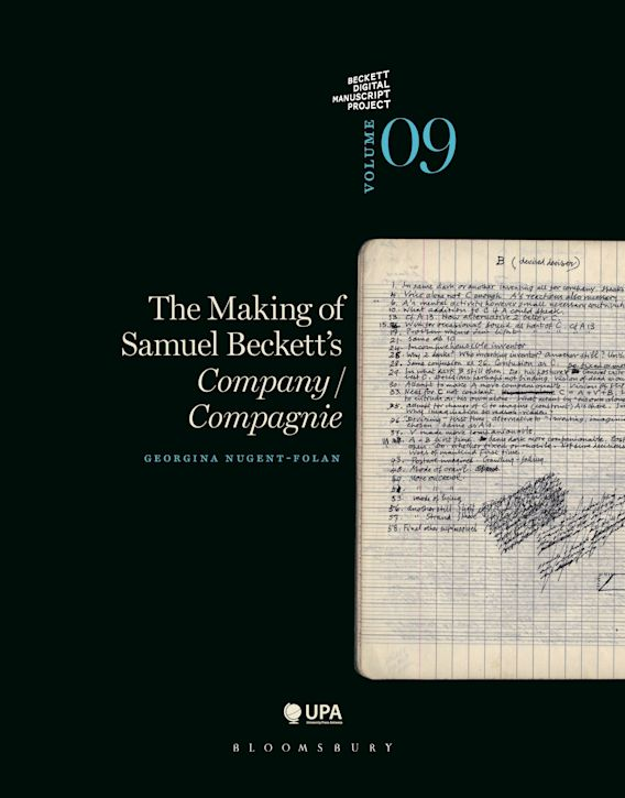 The Making of Samuel Beckett's Company/ Compagnie cover