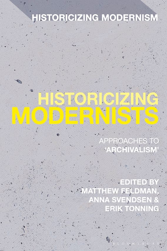 Historicizing Modernists cover