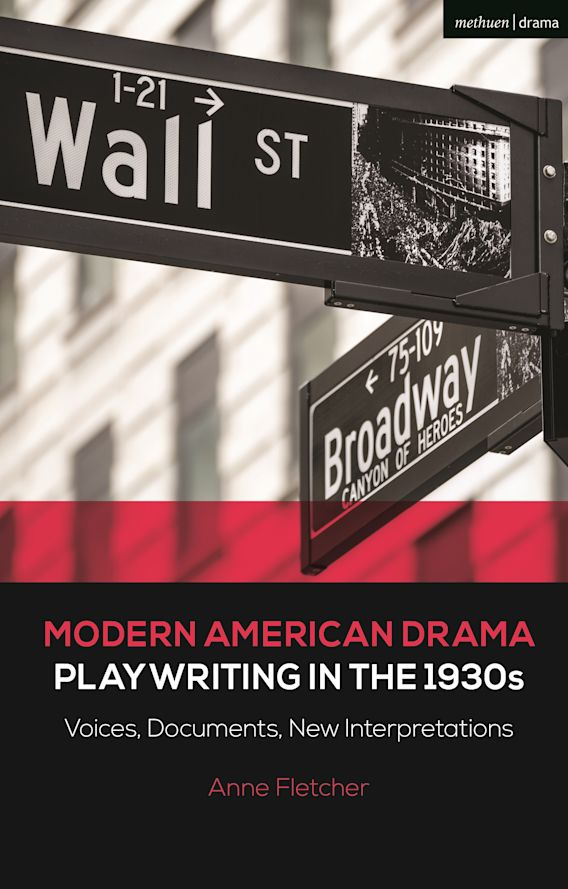 Modern American Drama: Playwriting in the 1930s cover