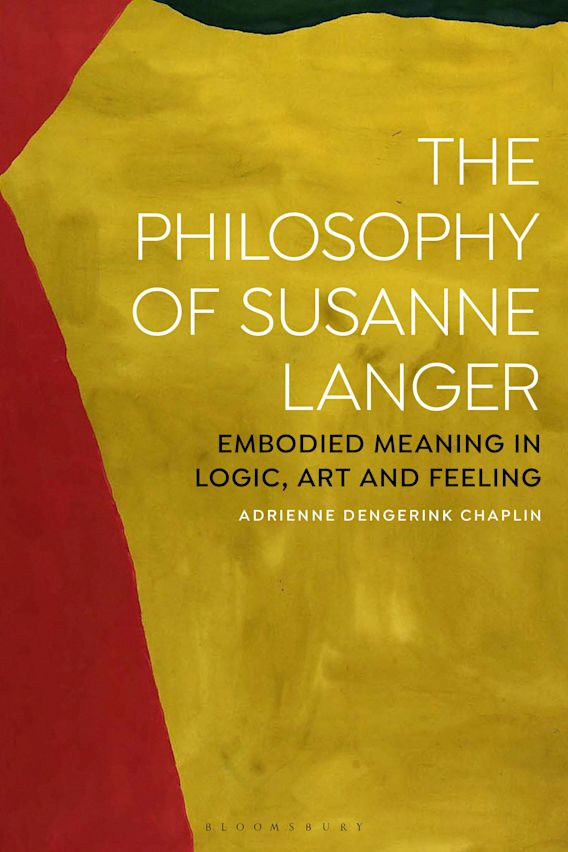 The Philosophy of Susanne Langer cover