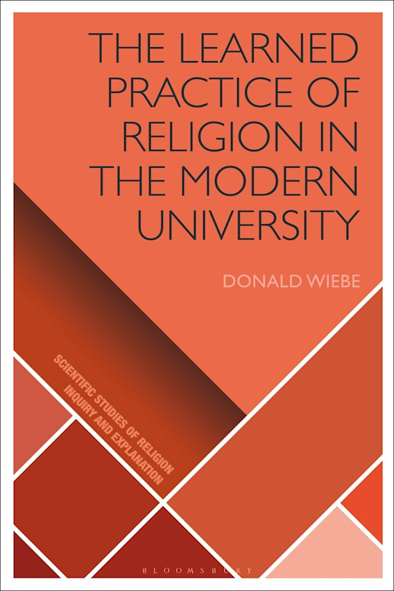The Learned Practice of Religion in the Modern University cover