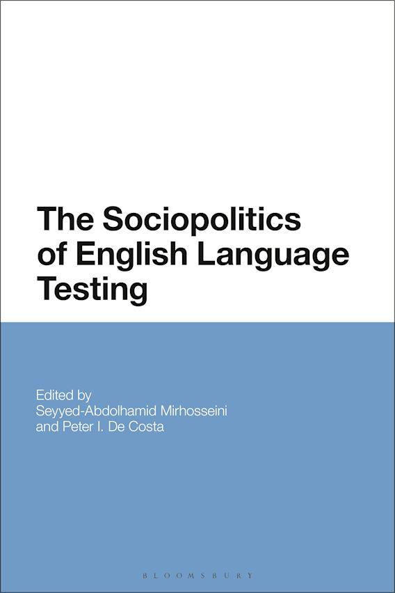 The Sociopolitics of English Language Testing cover