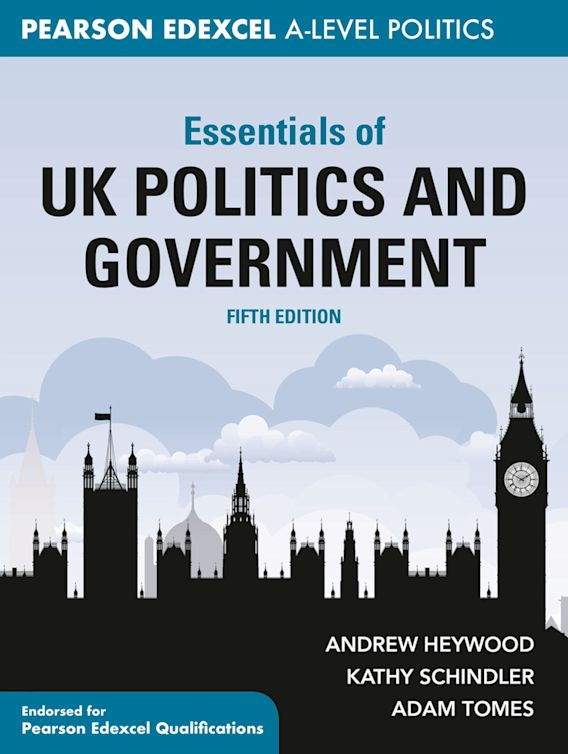 Essentials of UK Politics and Government cover