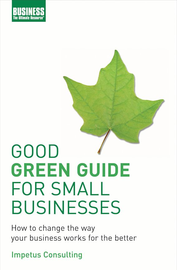 Good Green Guide for Small Businesses cover