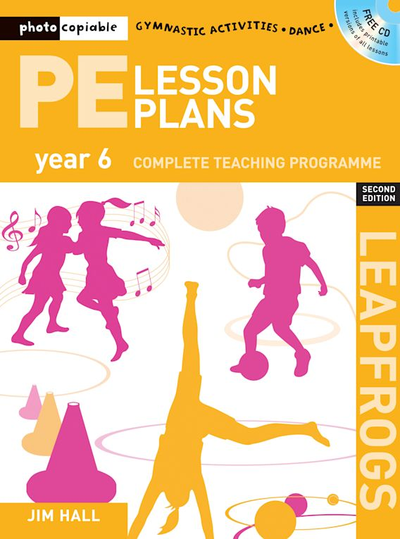PE Lesson Plans Year 6 cover