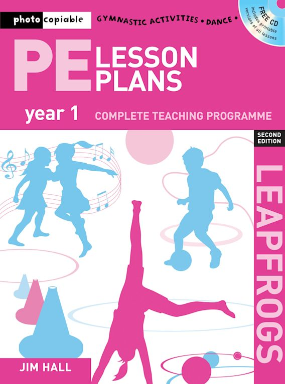 PE Lesson Plans Year 1 cover