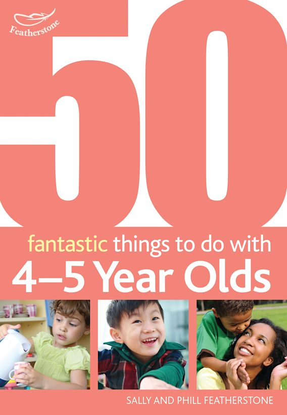 50 Fantastic things to do with 4-5 year olds cover
