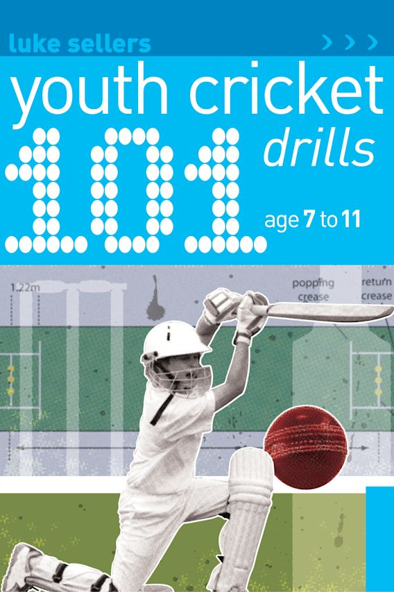 101 Youth Cricket Drills Age 7-11 cover