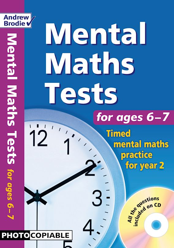Mental Maths Tests for ages 6-7 cover