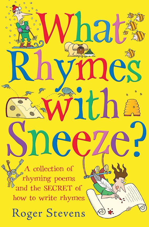 What Rhymes With Sneeze? cover