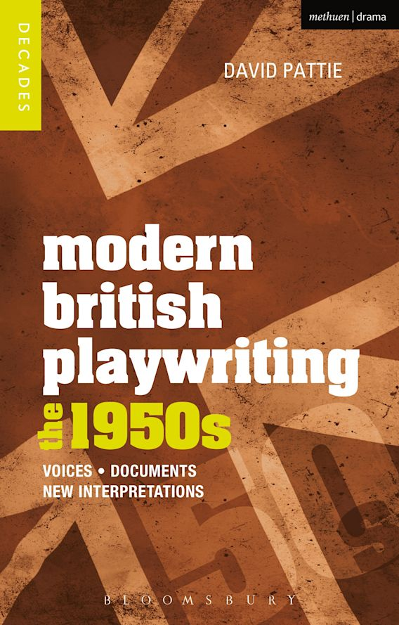 Modern British Playwriting: The 1950s cover