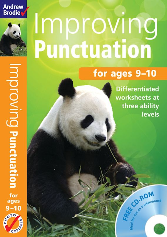 Improving Punctuation 9-10 cover
