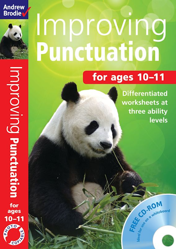Improving Punctuation 10-11 cover