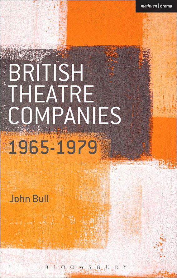 British Theatre Companies: 1965-1979 cover