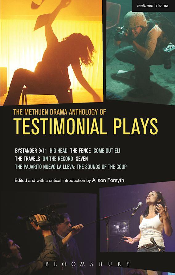 The Methuen Drama Anthology of Testimonial Plays cover