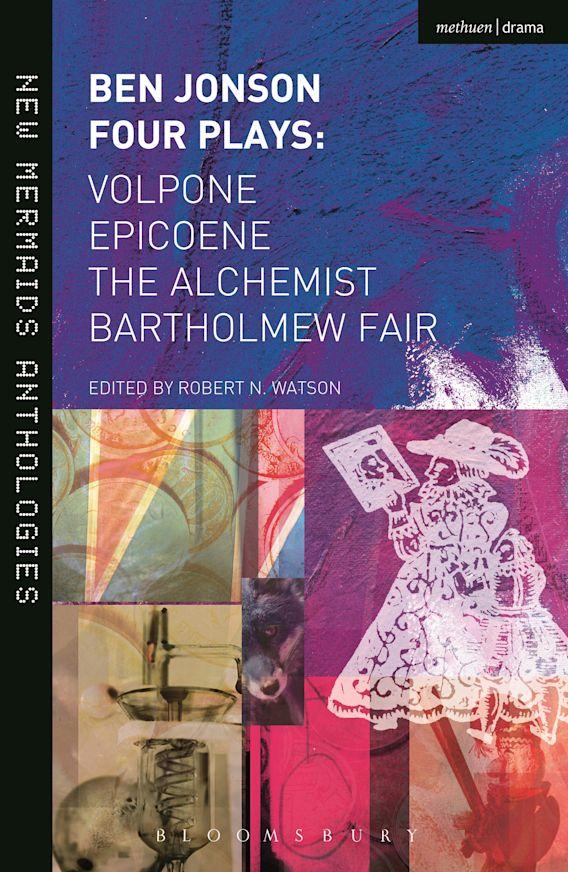 Ben Jonson: Four Plays cover
