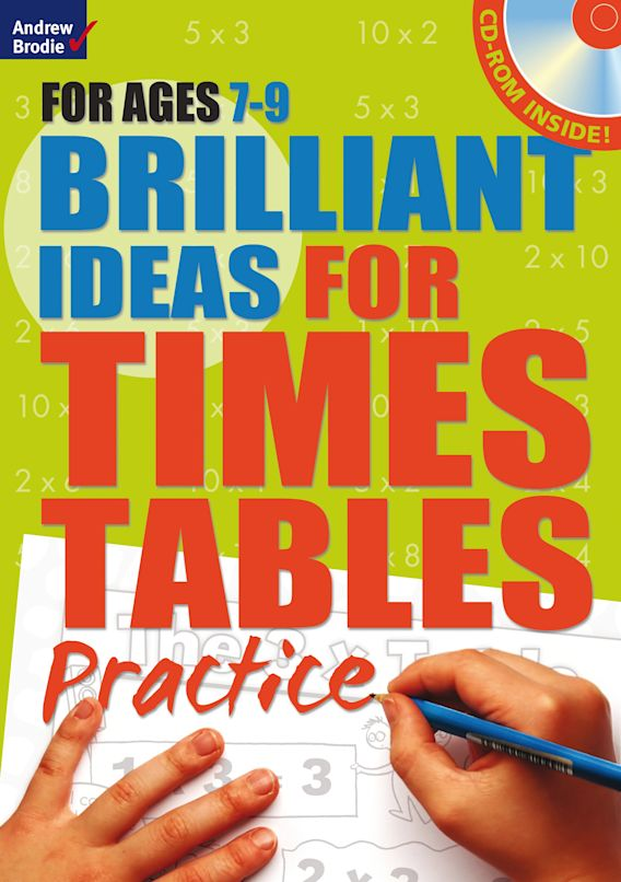 Brilliant Ideas for Times Tables Practice 7-9 cover