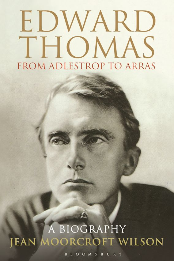 Edward Thomas: from Adlestrop to Arras cover