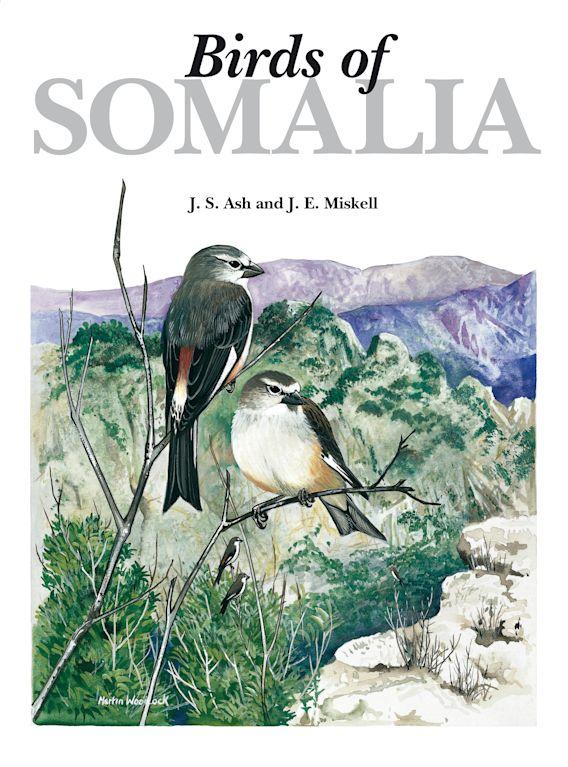 Birds of Somalia cover