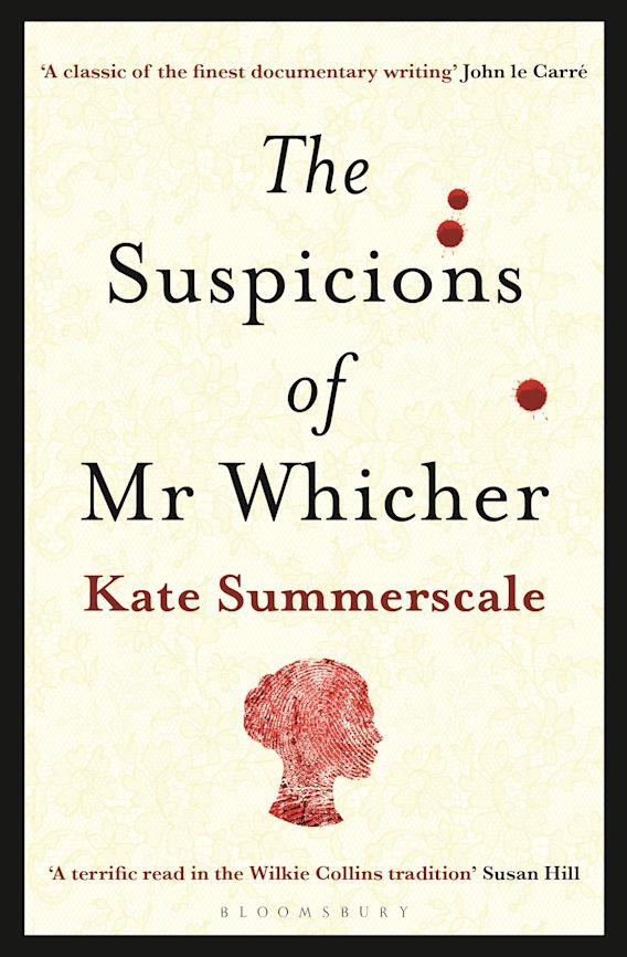 The Suspicions of Mr. Whicher cover