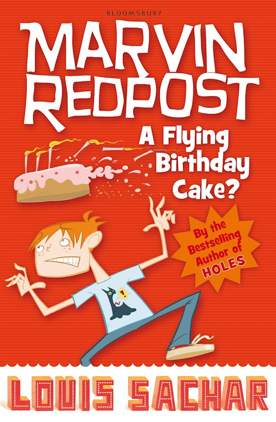 Marvin Redpost: A Flying Birthday Cake? cover