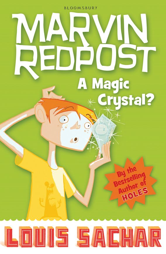 Marvin Redpost: A Magic Crystal? cover