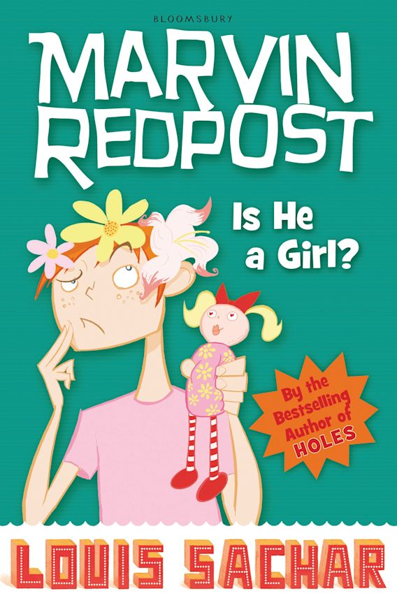 Marvin Redpost: Is He a Girl? cover