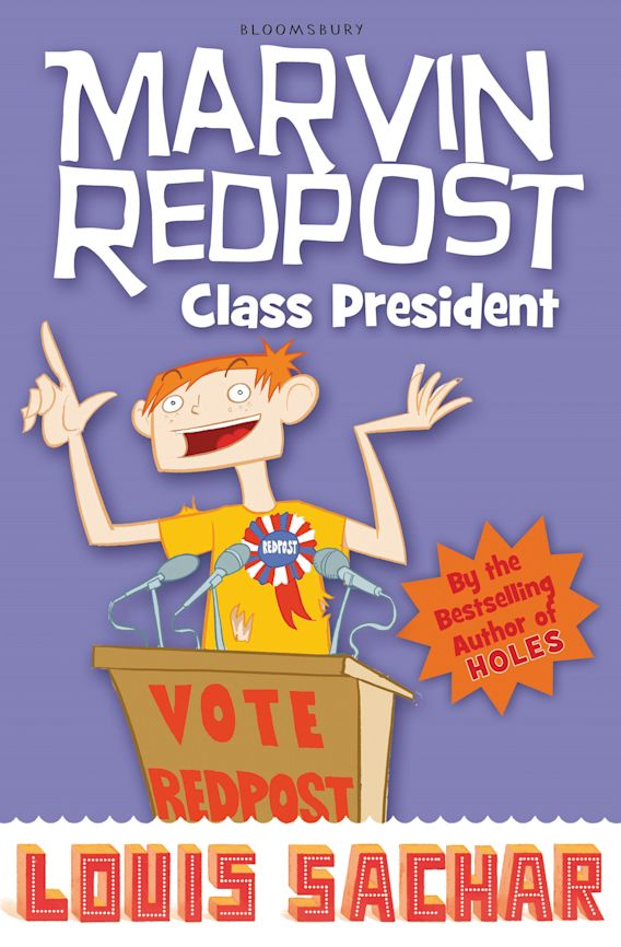 Marvin Redpost: Class President cover