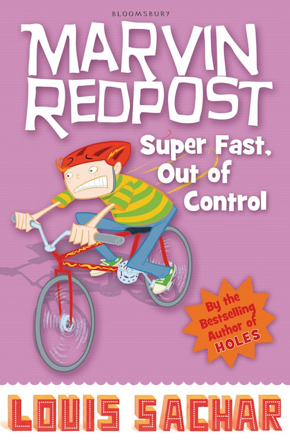 Marvin Redpost: Super Fast, Out of Control! cover