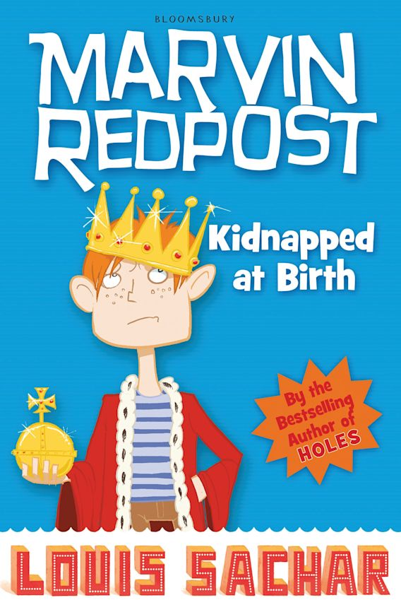 Marvin Redpost: Kidnapped at Birth cover